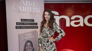 Ana Guerra, en la presentación de su nuevo libro / Gtres.
