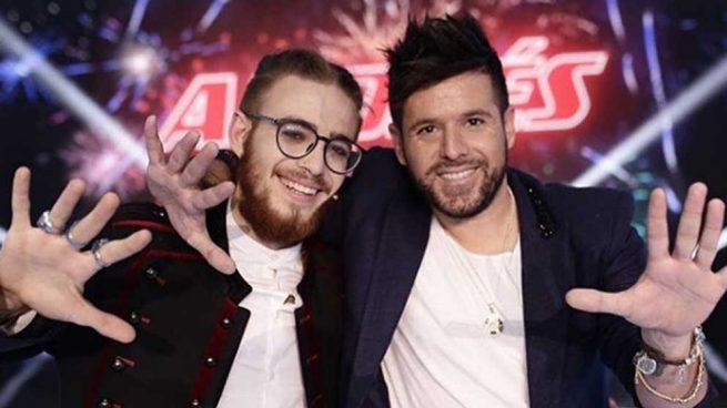 Andrés Martín y Pablo López La Voz