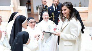 La reina Letizia en el Monasterio de San Blas. / Facebook Noviciado Dominicas Lerma