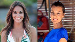 La presentadora Lara Álvarez y la modelo Mar Flores. / Gtres