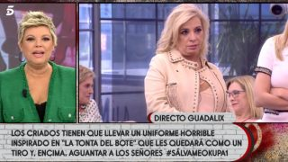 Terelu Campos y la decisión que enfada a su hermana Carmen Borrego / Telecinco.