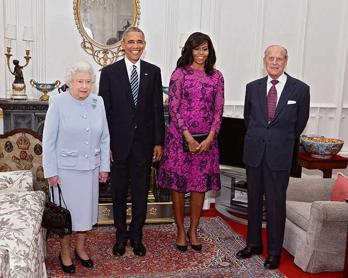 Obama Isabel II