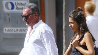 Rocío Crusset y su padre Carlos Herrera por Nueva York/Gtres