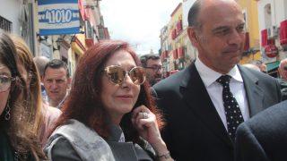 Ana Rosa Quintana disfruta de la Hermandad de la Esperanza en Triana / Gtres.