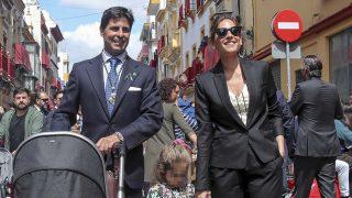 Francisco Rivera y Lourdes Montes han pasado el Jueves Santos con sus dos hijos / Gtres