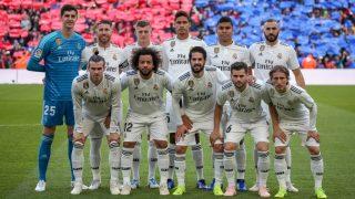 La plantilla del Real Madrid, en duelo / Gtres.
