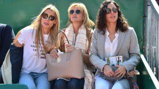 Xisca Perelló disfrutó del último partido de Rafa Nadal junto a su suegra y su cuñada / Tres