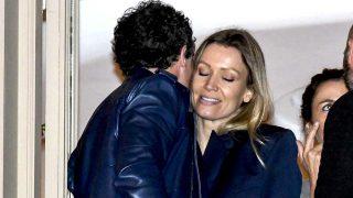 Antonio Bandera manifestó el amor que siente hacia su pareja, Nicole Kimpel, en la Semana Santa malagueña/ Gtres