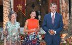 Reina Letizia Sofía Rey Felipe