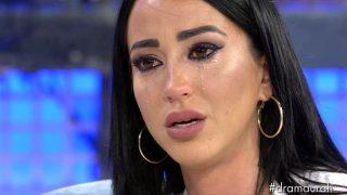 Aurah, durante su entrevista en 'Sábado Deluxe' / Telecinco.
