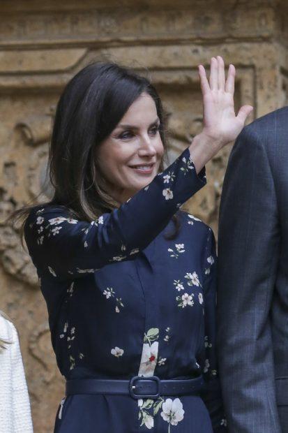 Doña Letizia, low cost español para su reaparición en Mallorca