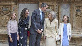 La Familia Real a las puertas de la catedral / Gtres