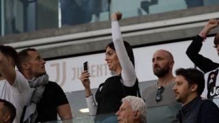 Georgina Rodríguez, en el estadio para disfrutar de su chico / Gtres.