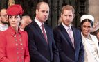 Arde Windsor: Kate borra a Meghan y Harry ignora a Guillermo