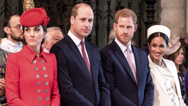 Arde Windsor: Kate borra a Meghan y Harry ignora a Guillermo