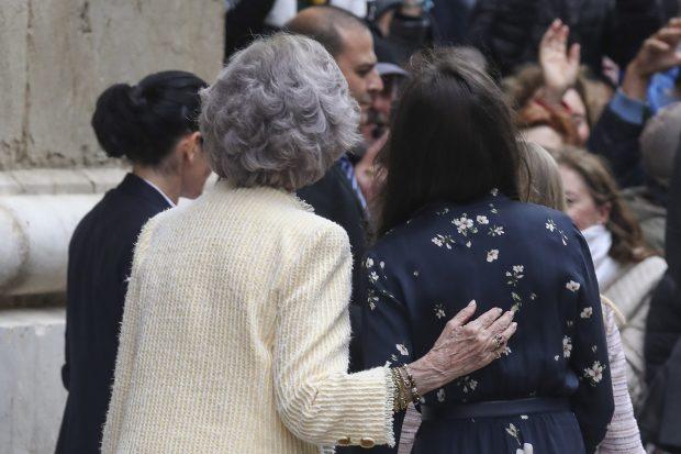 Doña Sofía no estaba tan sola en Palma: el detalle con el que recordó al rey Juan Carlos