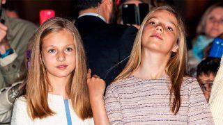 GALERÍA: Así ha ido eclipsando la infanta Sofía a la princesa Leonor en sus últimas apariciones / Gtres