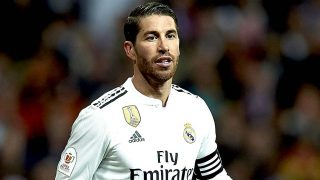 Sergio Ramos saca partido a sus horas de banquillo en la mejor compañía/ Gtres