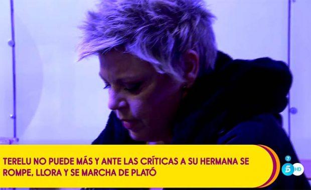 Primeras palabras de Terelu Campos tras abandonar 'Salvame'