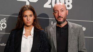 Dora Postigo y su padre, Diego Postigo, en una imagen de archivo / Gtres