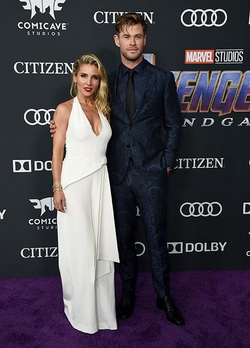 Elsa Pataky se viste de 'novia' para el estreno de 'Vengadores: Endgame'