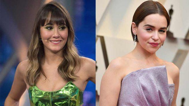 Nadie diría que Emilia Clarke y Aitana podrían tener el mismo gusto sobre la alfombra roja