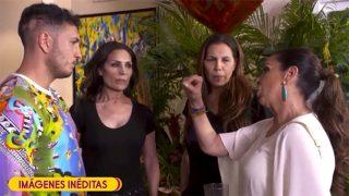 El cara a cara de Isabel Pantoja con Omar Montes en Supervivientes/ Mediaset
