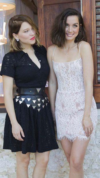 Lea Seydoux, Ana de Armas