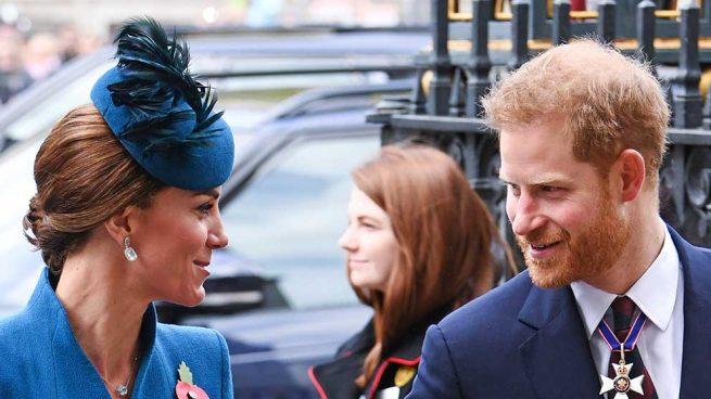 El Príncipe Harry y la Duquesa de Cambridge