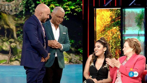 Kiko Rivera, Jorge Javier Vázquez, Isa Pantoja