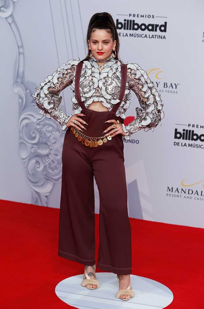 Rosalía en los premios Billboard Latinos