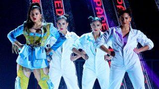 La cantante Rosalía durante los Premios Billboard latinos / Gtres