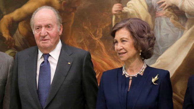 Don Juan Carlos doña Sofía,