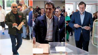No te pierdas las imágenes de famosos y políticos votando / Gtres.