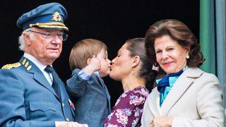 GALERÍA: El 'besucón' Óscar de Suecia roba el protagonismo al rey en su cumpleaños / Gtres