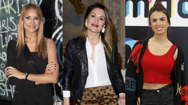 Alba Carrillo, Nagore Robles y Sofía Suescun