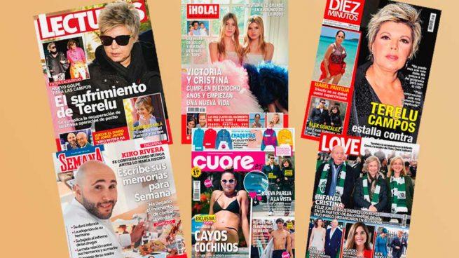 Revistas corazón 30 de abril 2019