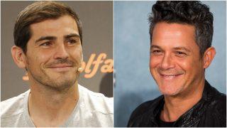 Alejandro Sanz e Iker Casillas, amigos por encima de todo / Gtres.