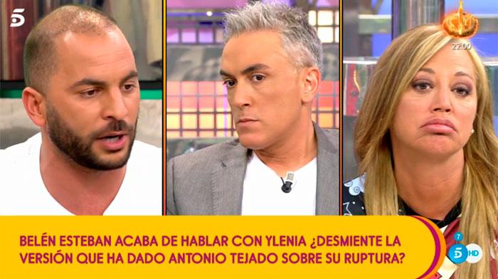 Primeras palabras de Antonio Tejado tras su ruptura con Ylenia