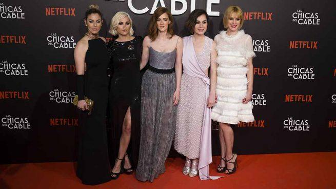 Blanca Suárez. Ana Fernández, Ana Polvorosa, Nadia de Santiago y Maggie Civantos Chicas del cable