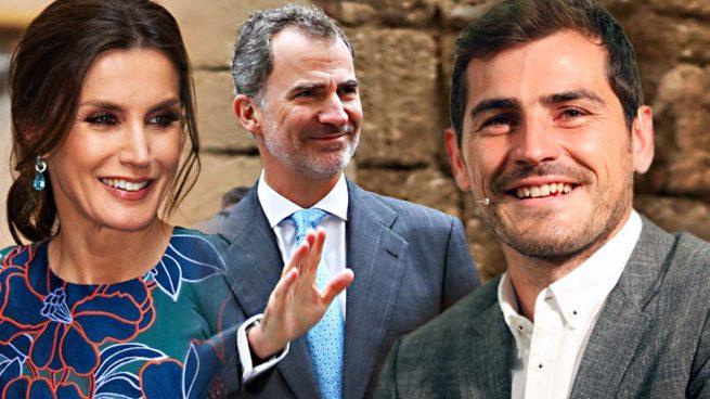 Iker Casillas y los reyes