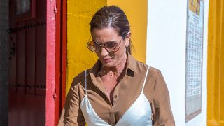 Raquel Bollo no ha acertado con su último look / Gtres
