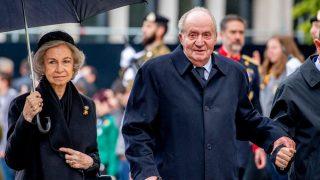 Don Juan Carlos, doña Sofía y otros líderes europeos / Gtres.
