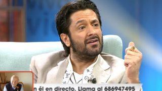 Rafael Amargo, en su polémica entrevista con 'Viva la Vida' / Telecinco.