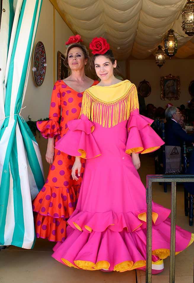 Ágatha Ruiz de la Prada Cósima Ramírez feria de abril
