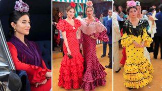 Descubre todos los looks que los famosos han lucido hoy en la Feria de Abril / Gtres