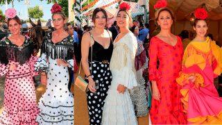 Los famosos han disfrutado de la Feria de Abril en familia / Gtres