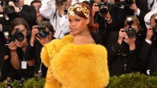 La cantante Rihanna, una de las protagonistas de la MET gala de 2015 / Gtres