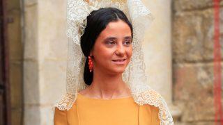 Victoria Federica durante la Exhibición de Enganches de Sevilla. / Gtres