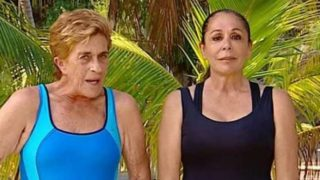 Chelo García Cortés e Isabel Pantoja en Supervivientes /Mediaset